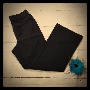 Duo maternity black dress pants